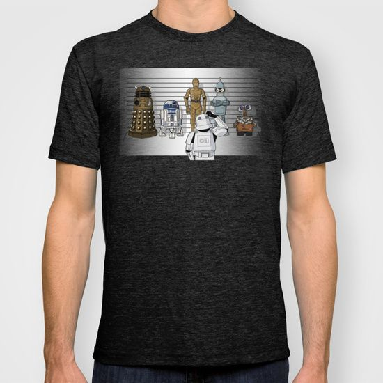 Star+Wars+Droid+Lineup+T-shirt+by+RebelArtCollective+-+$22.00