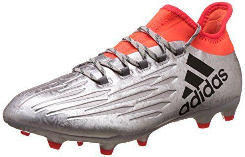 Adidas Gloro 16.2 FG, Botas de Fútbol para Hombre, Negro (Negbas/Plamet/Rojsol), 46 2/3 EU