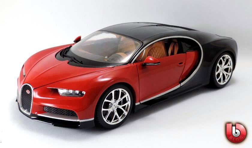 bugatti chiron (1:18) bburago | die cast vehicles 1:18, 1:24 & 1