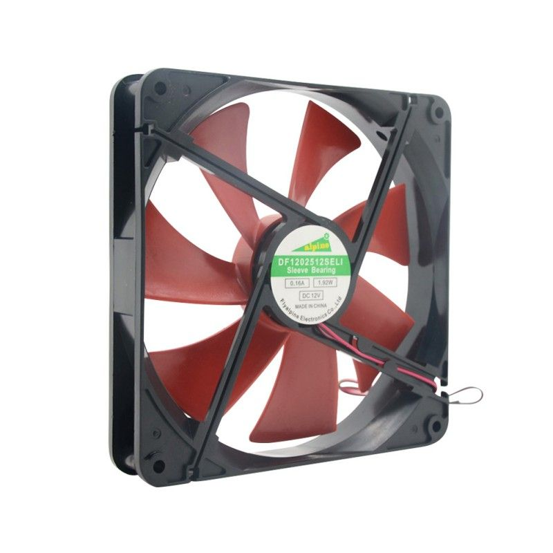 Top Quality Silent Quiet 140mm Pc Case Cooling Fans 14cm Dc 12v 4d