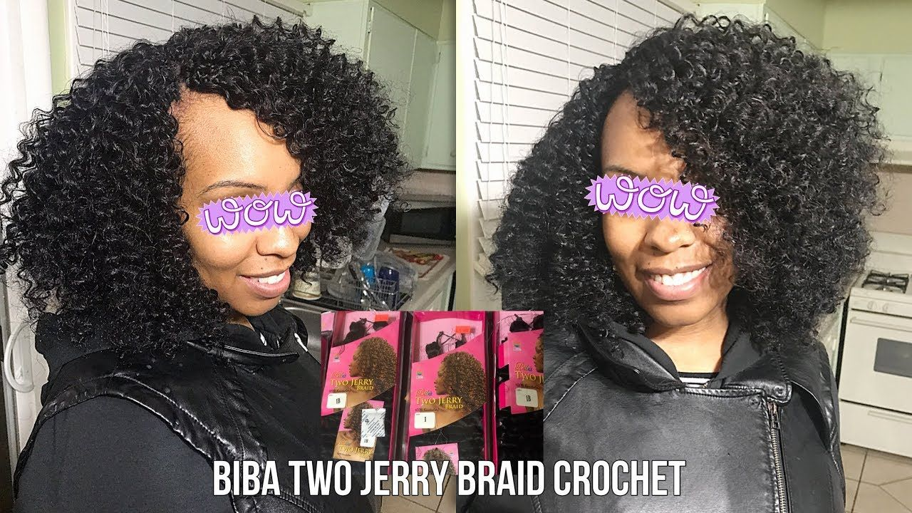 Biba Two Jerry Braid Crochet An Outre Xpression Jerry Curl Dupe