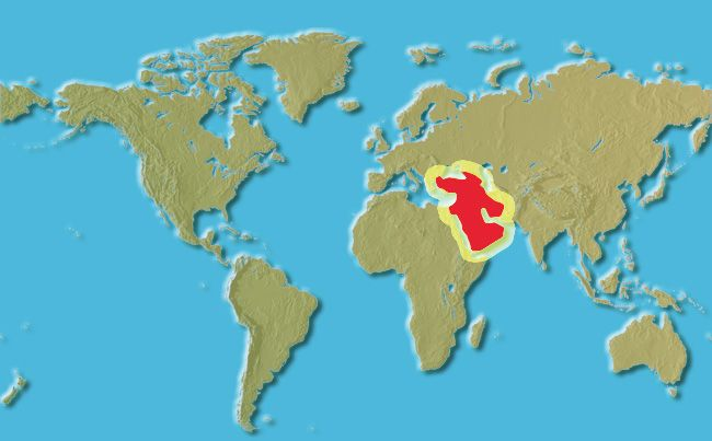 Neolithic Revolution Map The Neolithic Revoluti...