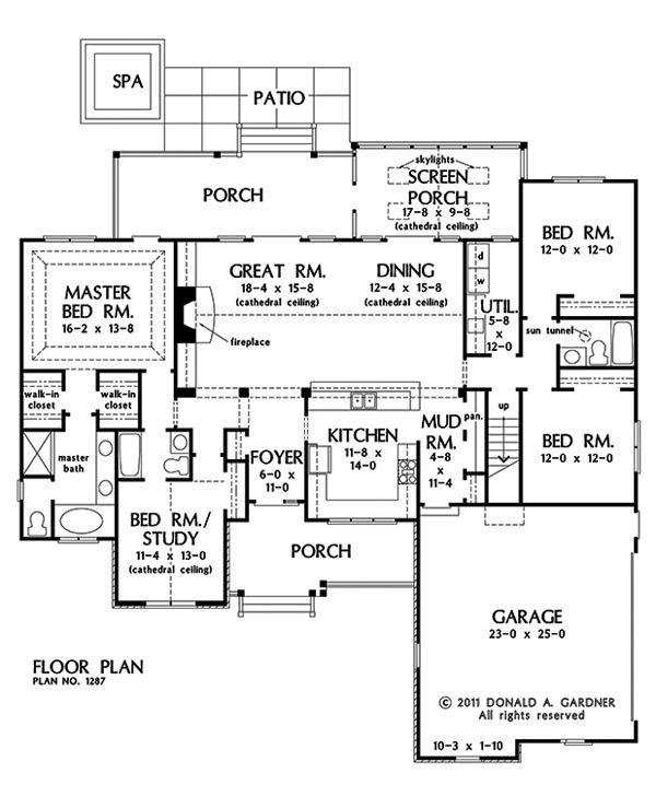 Plan Of The Week Under 2500 Sq Ft The Hardesty 1287 2124 Sq Ft