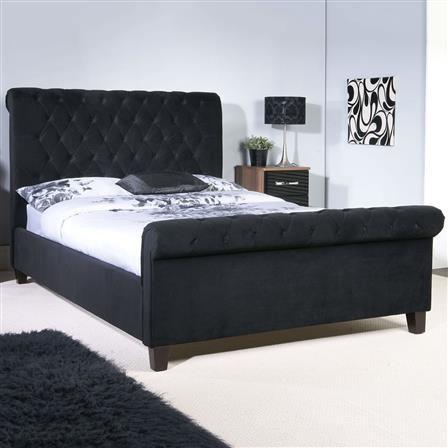 Orbit Double Bed Frame Black Choose Set