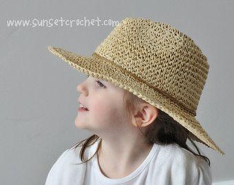 Wide brimmed summer sunhat straw hat crochet pattern 269 crochet wide brimmed summer sunhat straw hat crochet pattern 269 dt1010fo