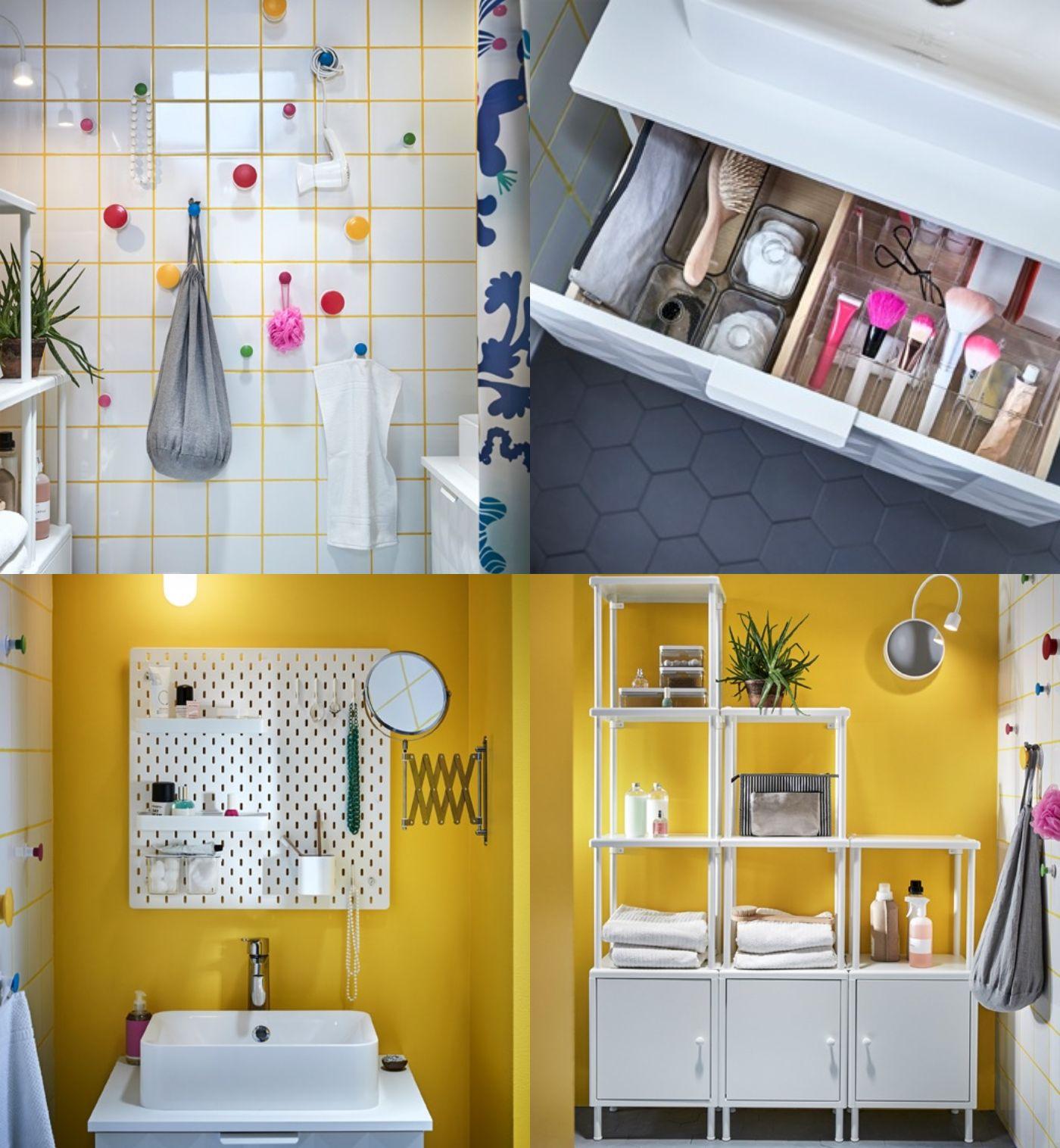 Ikea #Badezimmer praktisch einrichten Ideen für Ordnung im