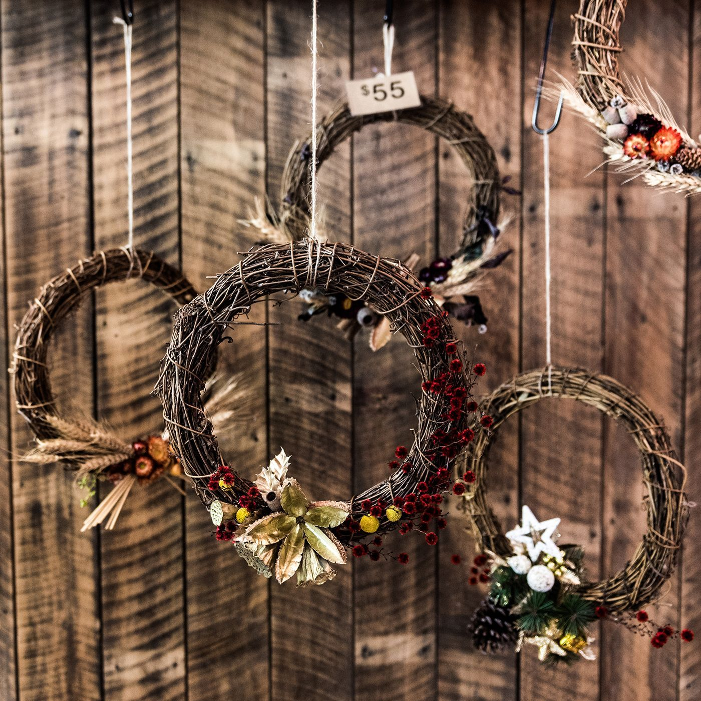 Dried wreaths have been so popular this year, and we still ...