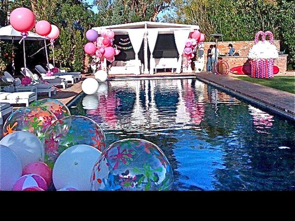 Pin Auf Poolparty 27th Birthday