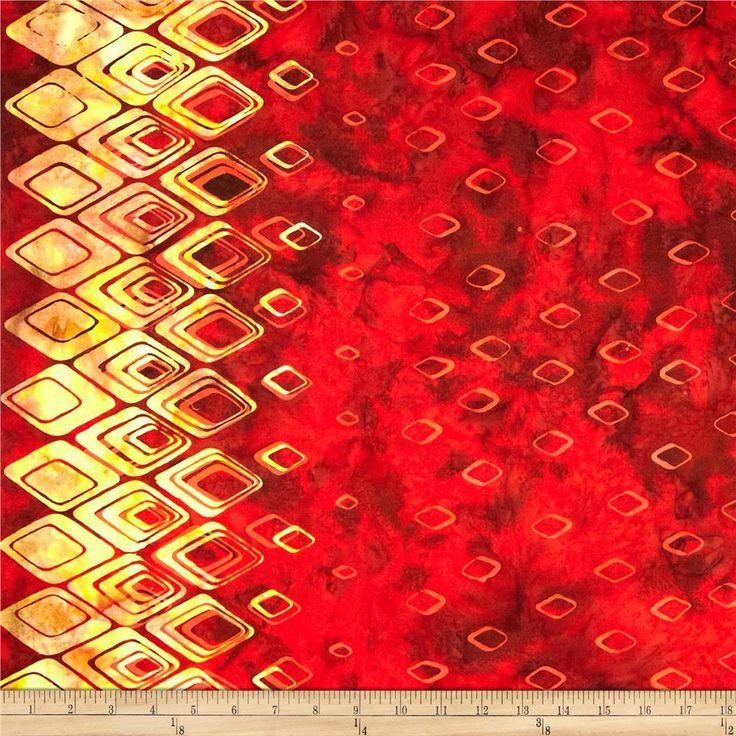 viridian hexagon batik fabric - Google Search