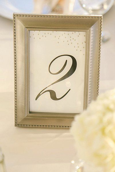 50 Memorable Ideas for Your Table Numbers | Table numbers, Number ...