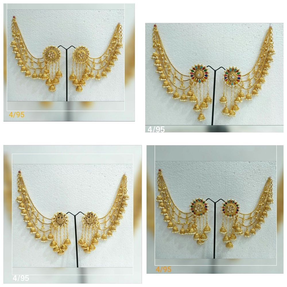 Indian Bollywood Gold Plated Pearl Polki Jhumka Jhumki Earrings Bridal Jewelry