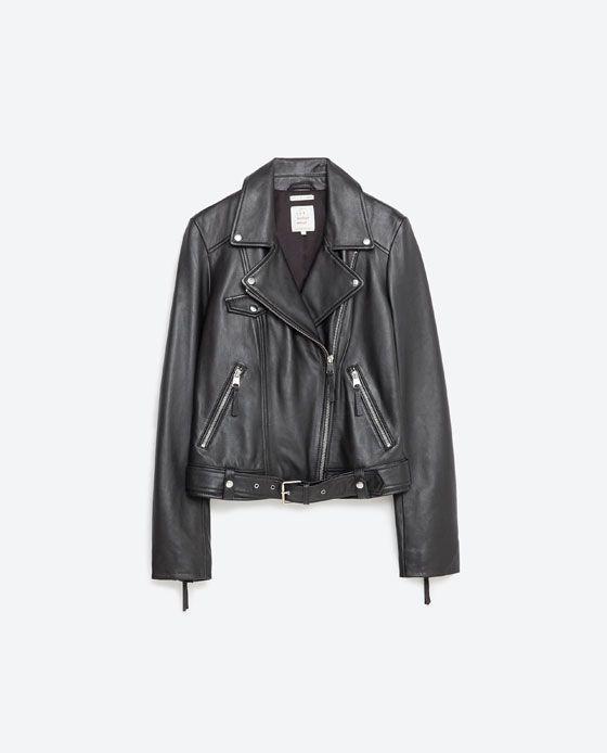 23ef0f9b Billede 8 af BASIC SKINDJAKKE fra Zara | Beklædning i 2019 | Tøj