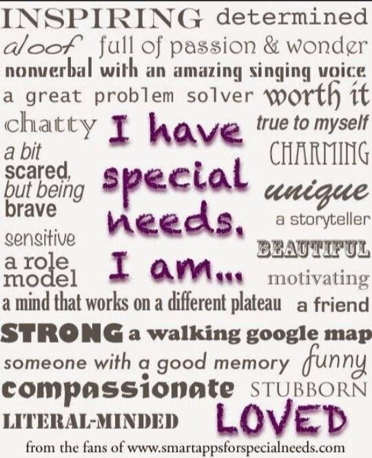 Pin By Vicki Tacoma On Kids Quotes Special Needs Quotes Need