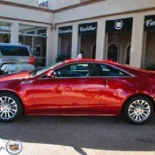 Caddilac CTS Coupe I simply LOVE my car and cars in general.  I love all shapes, types, horse power, colors.  VROOOMMMM!!