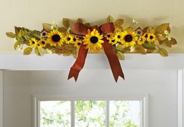 Sunflower kitchen decor and with fat chef kitchen decor and with apple kitchen decor and with kitchen design ideas #sunflowerbedroomideas