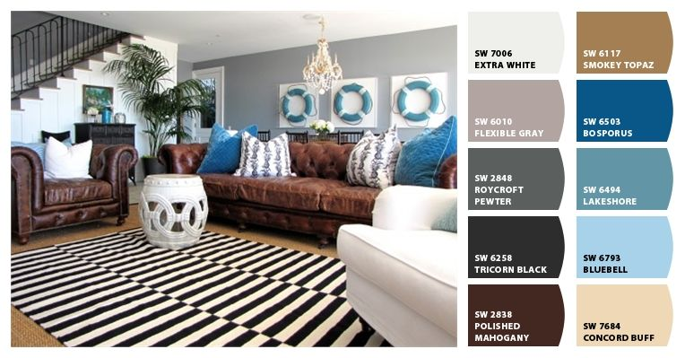 Terrific 17 Best Images About Sherwin Williams Color Beach House On Largest Home Design Picture Inspirations Pitcheantrous