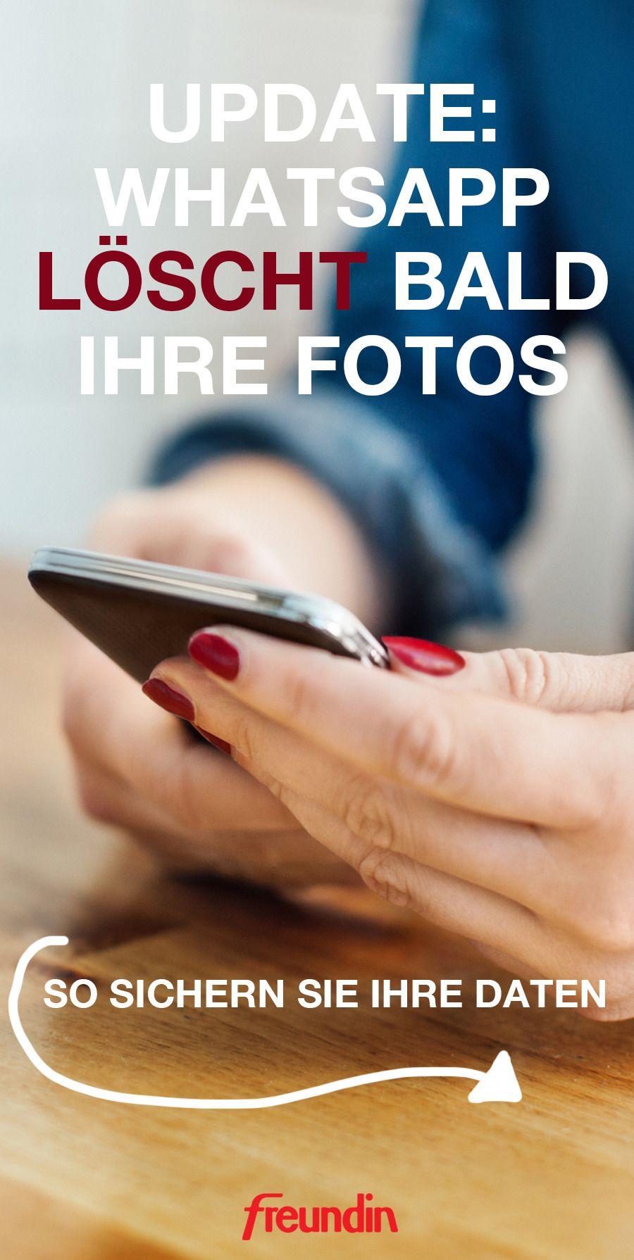 Update: WhatsApp löscht bald Ihre Fotos | Whatsapp