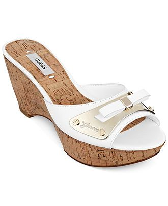 252fb026db7c GUESS Women s Rea Platform Slide Sandals - Sandals - Shoes - Macy s ...