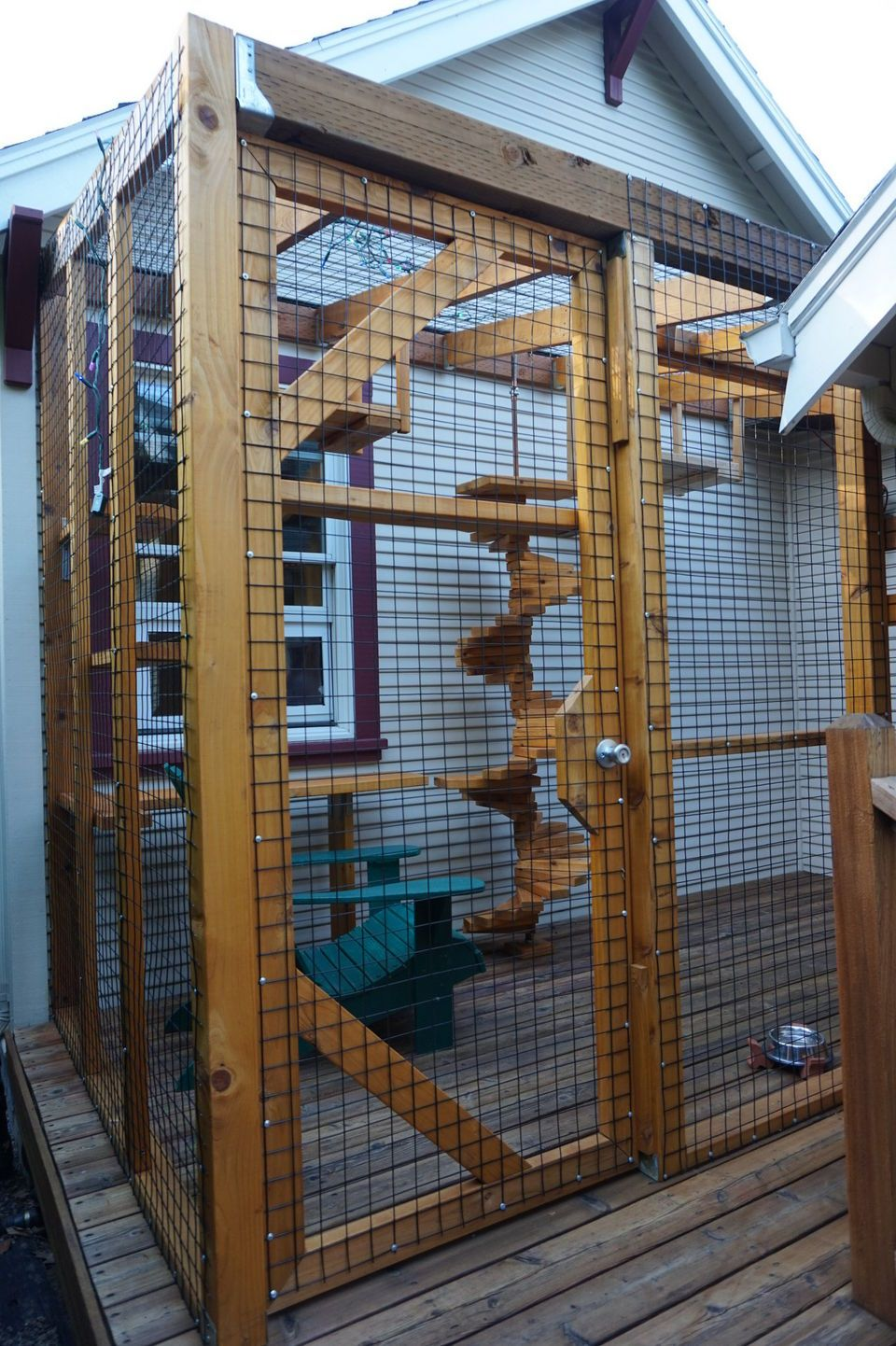 Cat Cage Gumtree The Cat S Meow Check Out Cat Patio Styles On The Catio Tour