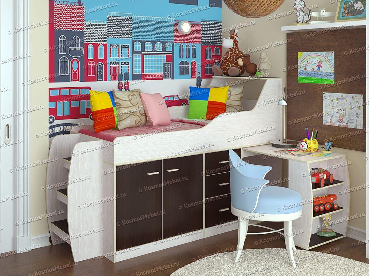«Минимакс» Детская кровать | мебельный интернет-магазин «Космос»