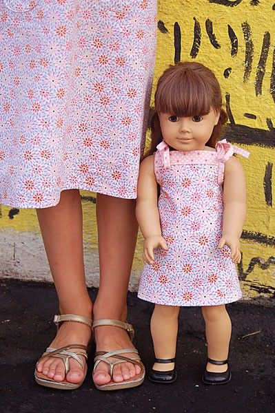 Popover Sundress and Doll Dress | Free Sewing Patterns | Oliver + S ...