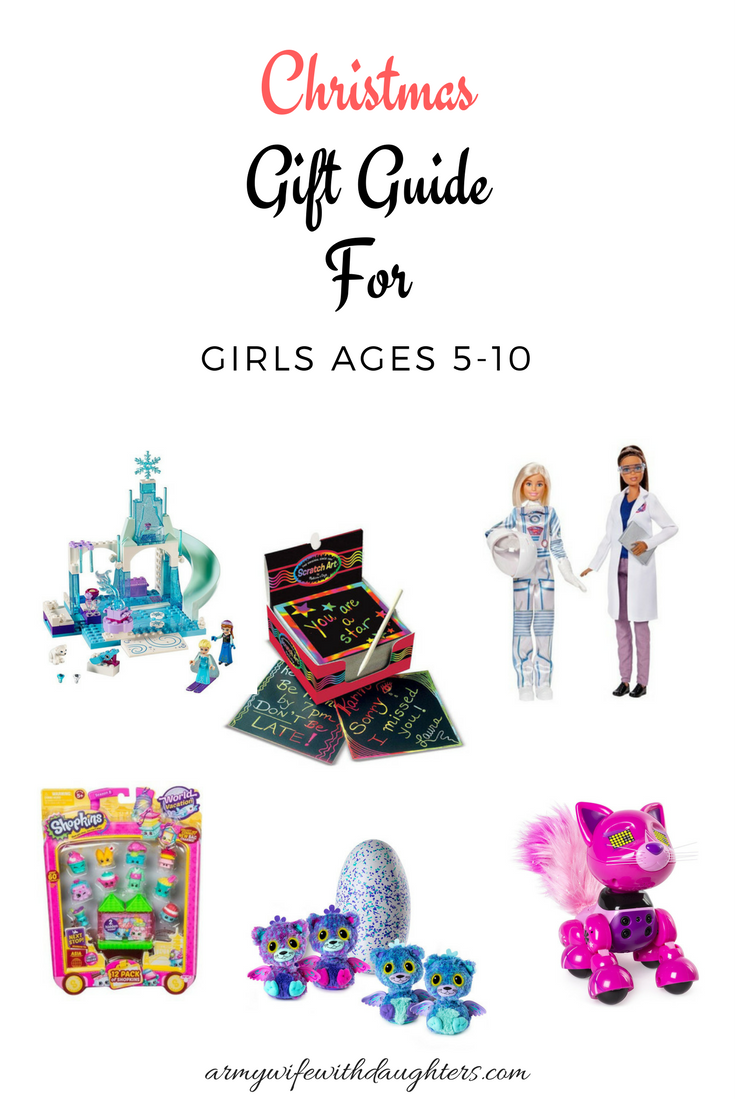 Christmas Ideas For Kids Girls.The Best Christmas Gifts For Girls Ages 5 10 Army Wife