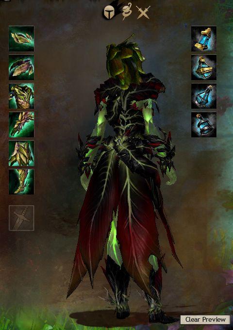 Guild Wars 2 Armor - Sylvari - Female - Dryad - Light