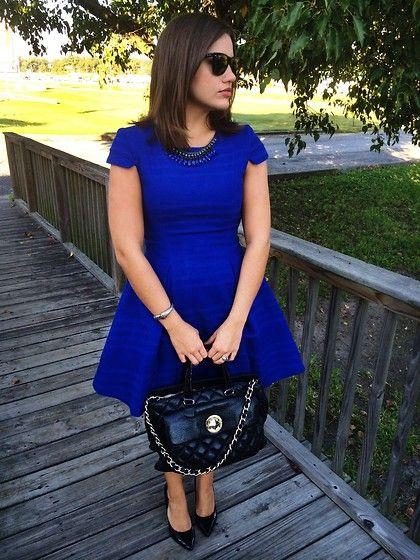 Zara Dress, Kate Spade Bag