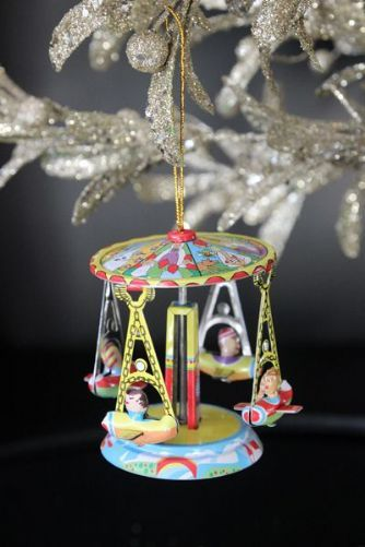 Traditional Carousel Decoration christmas is coming