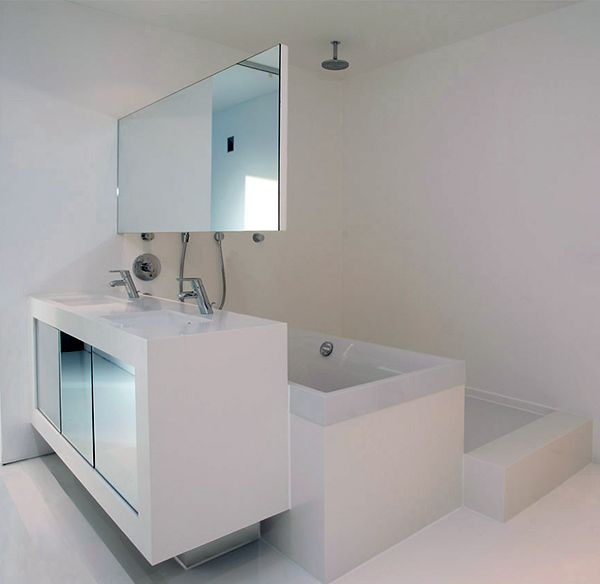 Clever Compact Bathroom Design by 123DV | My new house | Pinterest ...