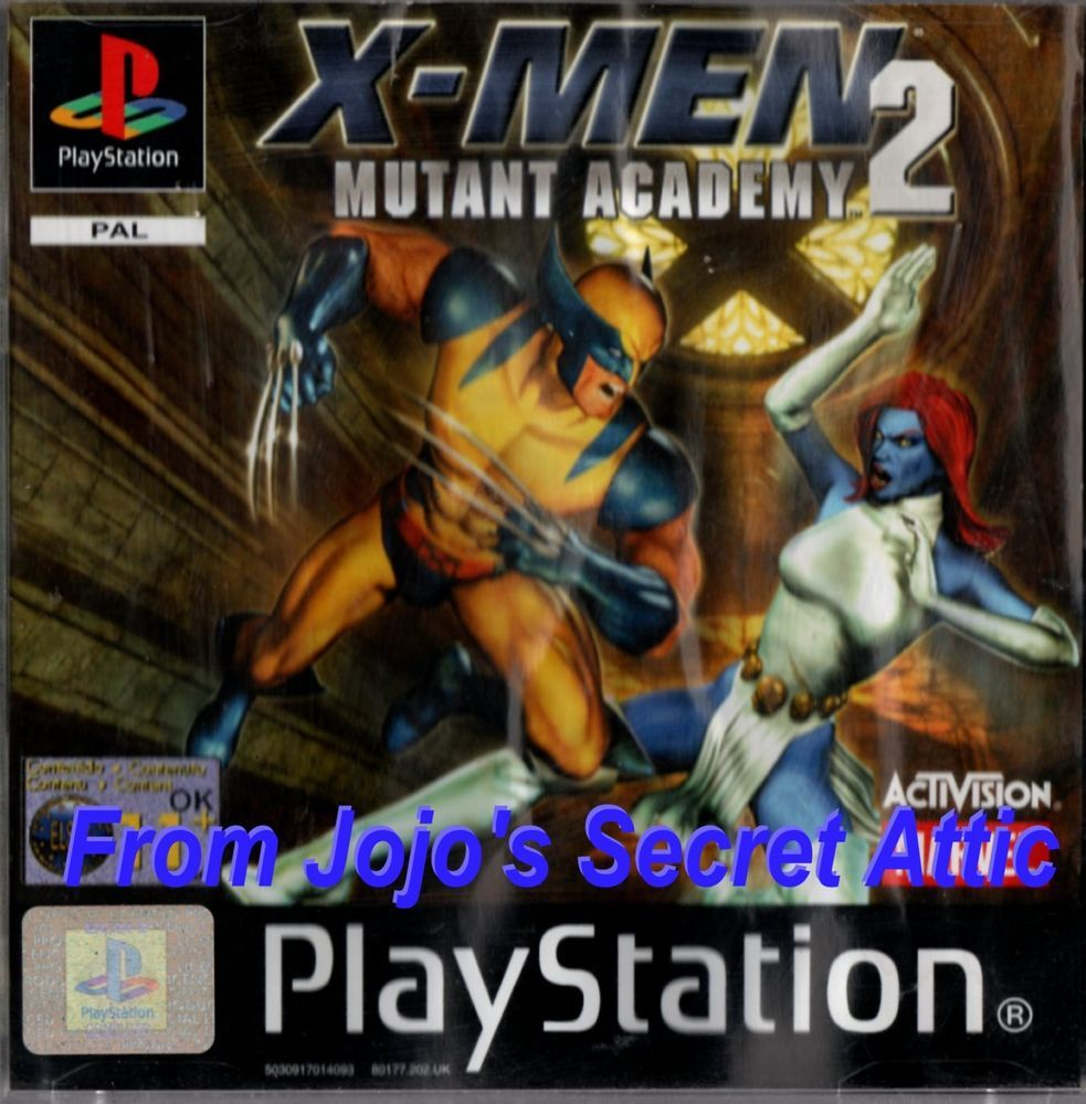 x men mutant academy 2 psp