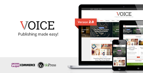 Voice v2.1 - Clean News/Magazine WordPress Theme  -  https://themekeeper.com/item/wordpress/blog-magazine/voice-newsmagazine-wordpress-theme