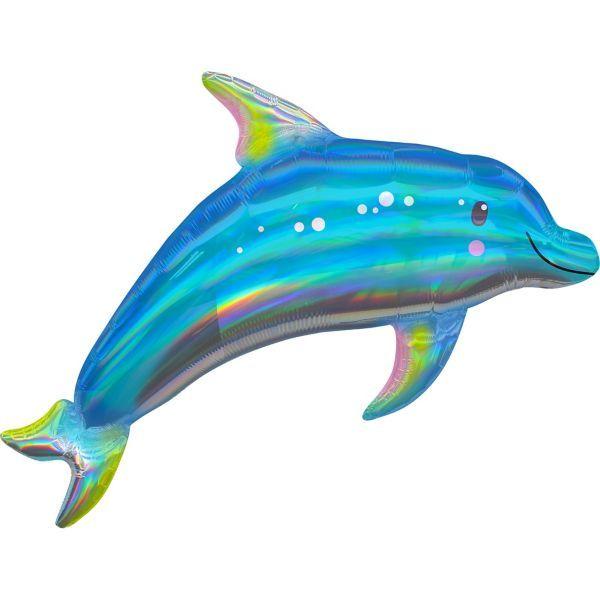 Blue Acrylic Dolphin Figures One Dozen 12 per order