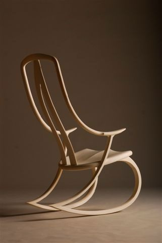 Modern Wood Rocking Chair More
