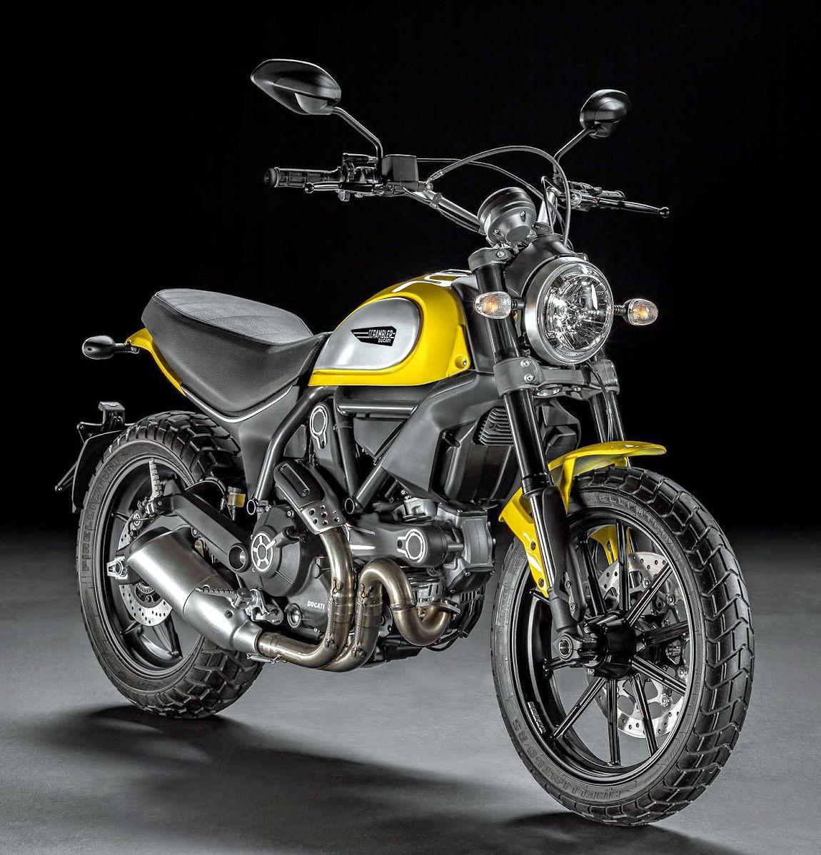 Ducati Scrambler Icon 62 Yellow Bikes Scrambler Motorcycle