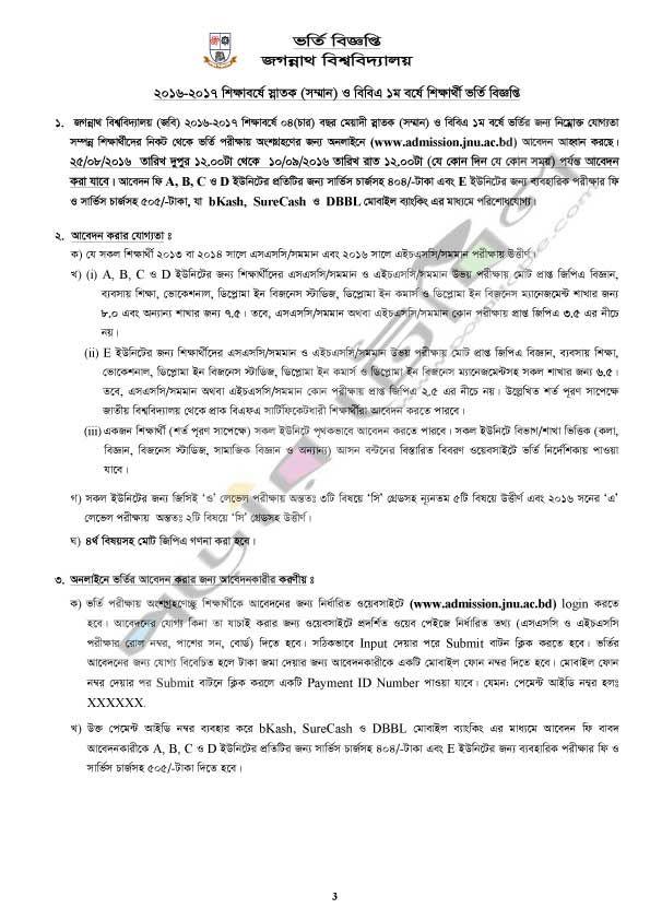 Rajshahi University Admission Test Notice And Result