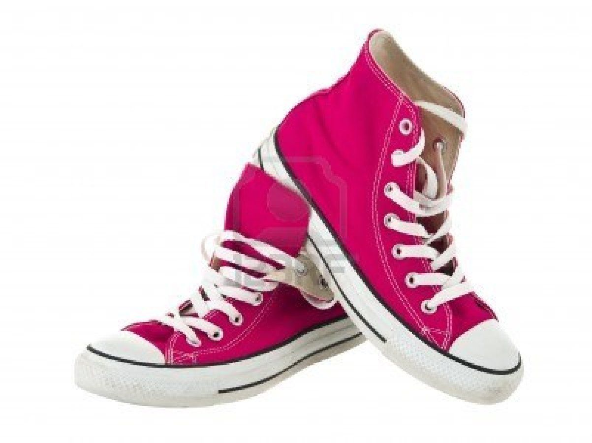 PINK Converse   Converse, Pink high top