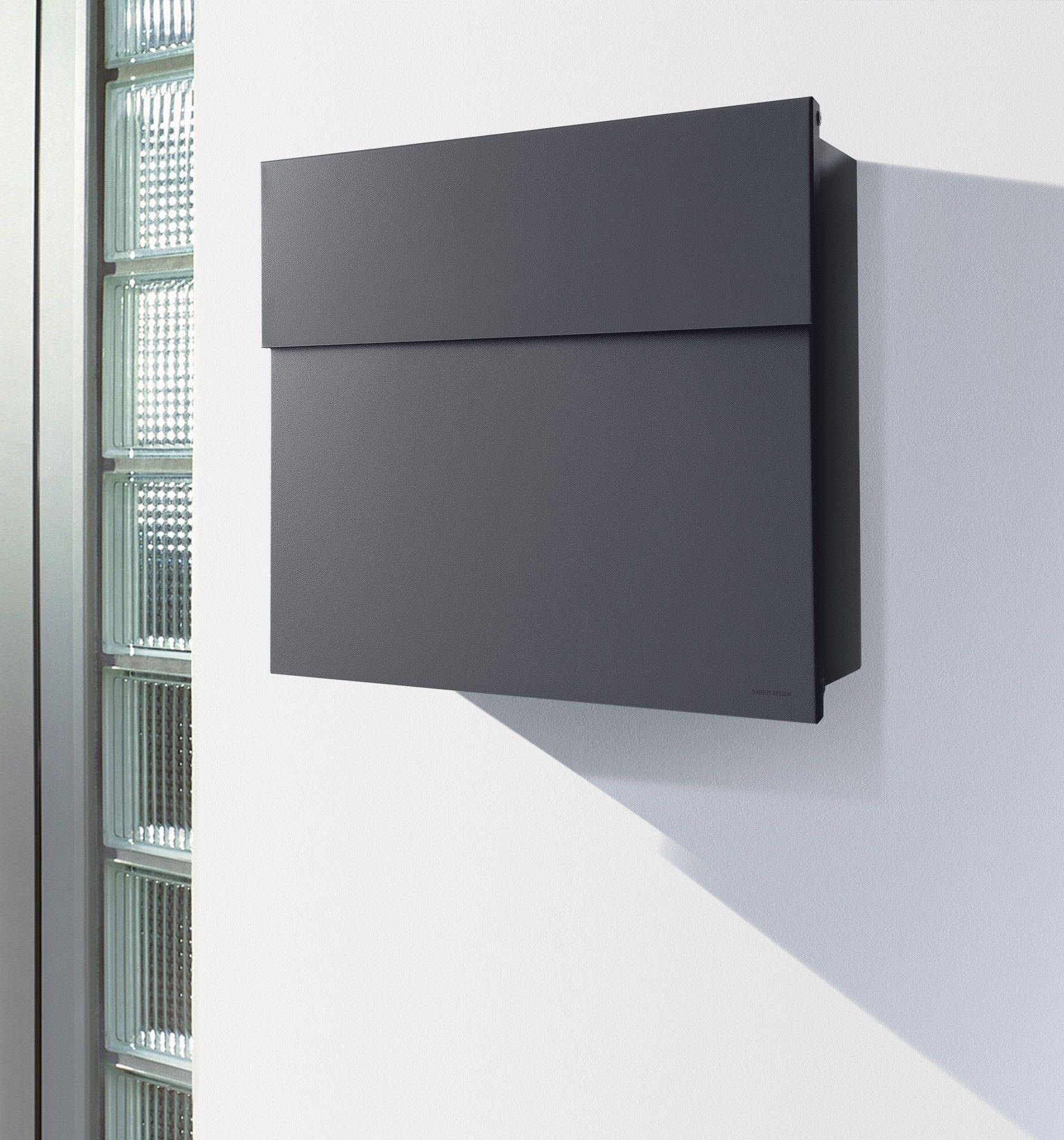 Radius Briefkasten Letterman 4 Anthrazitgrau Ral 7016 Wandbriefkasten Grau Eingang Amp Garten Briefkasten W Design Briefkasten Briefkasten Modern Briefkasten