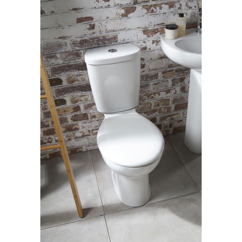 Pleasing Verona Access Close Coupled Toilet Wc Push Button Cistern Uwap Interior Chair Design Uwaporg