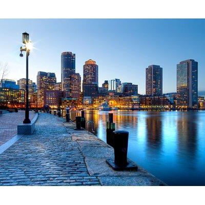 East Urban Home Boston Harbor Sunset Non Woven 11 8 L X 106 W
