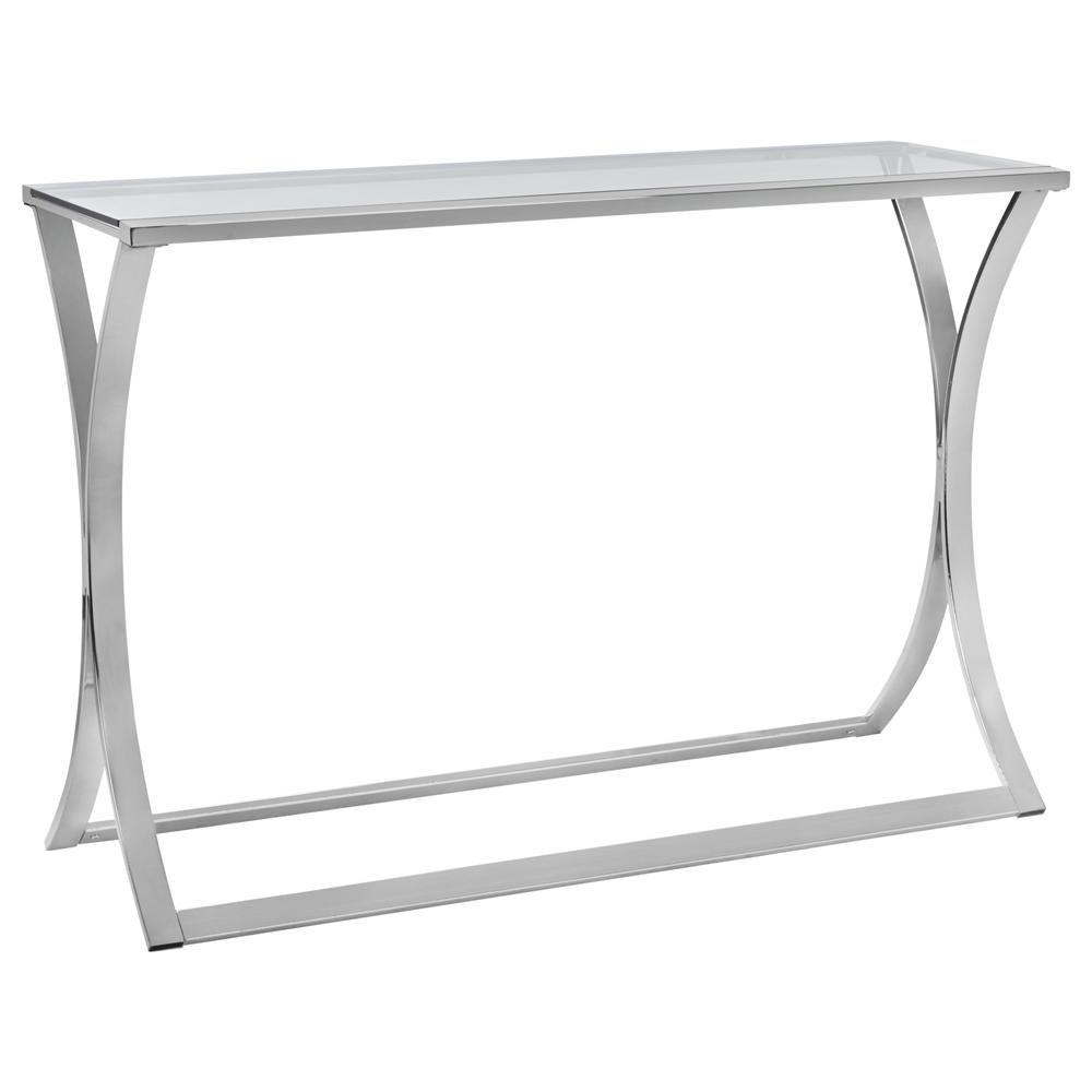 Console en métal en forme de sablier/CONSOLES & TABLES DE SALLE À MANGER/MEUBLES|Bouclair.com