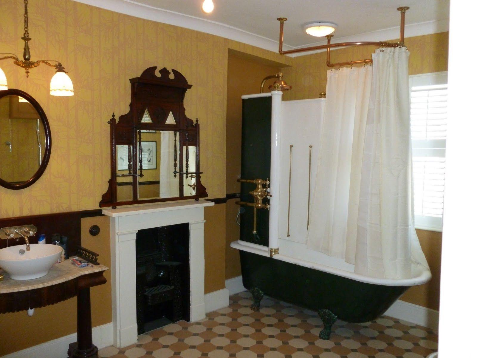 Victorian bathroom water closet pinterest victorian for Victorian bathrooms