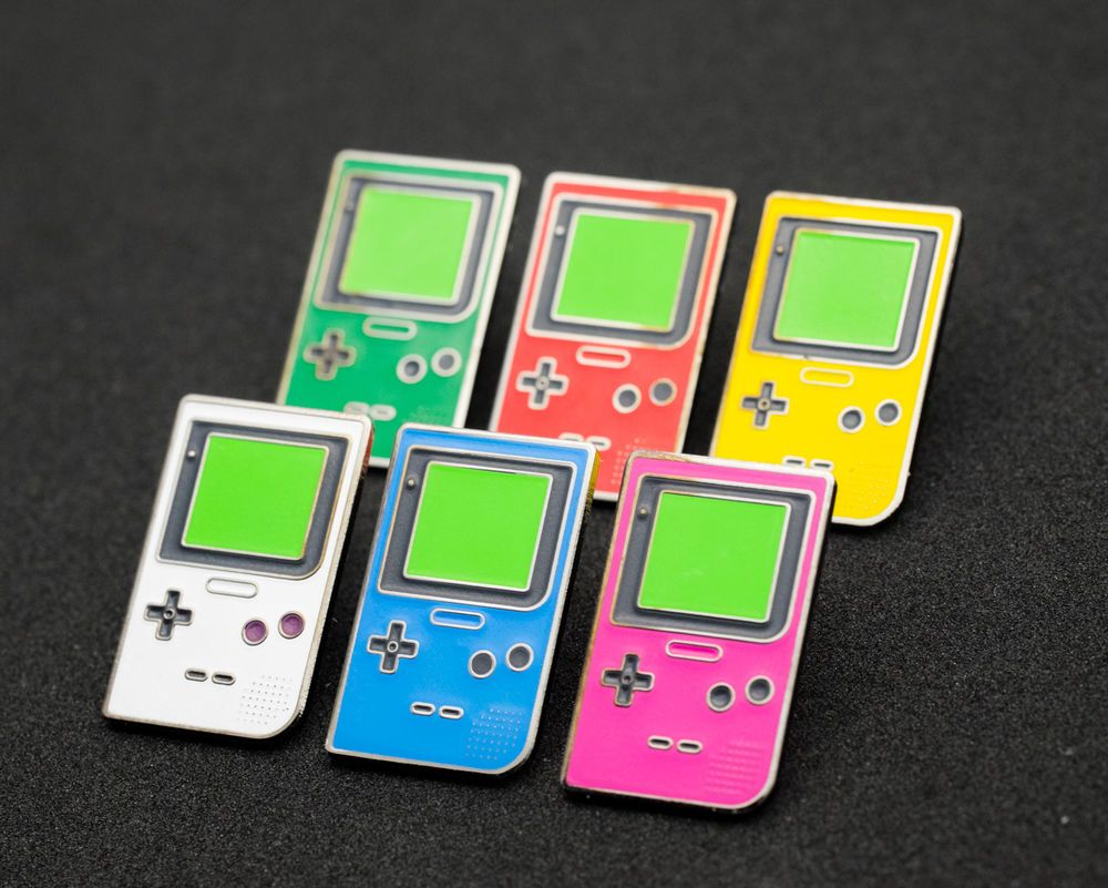 Details about 14x Metal Pin Badge Nintendo Switch Game Boy