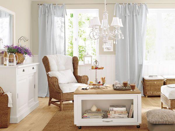 möbel im landhausstil modern interpretiert1 | ideen rund ums haus ... - Wohnzimmer Landhausstil Modern