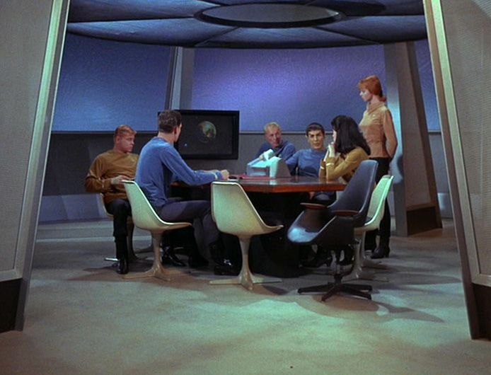 High Quality Help With Star Trek Original Series FURNITURE/CHAIRS???   The Trek BBS