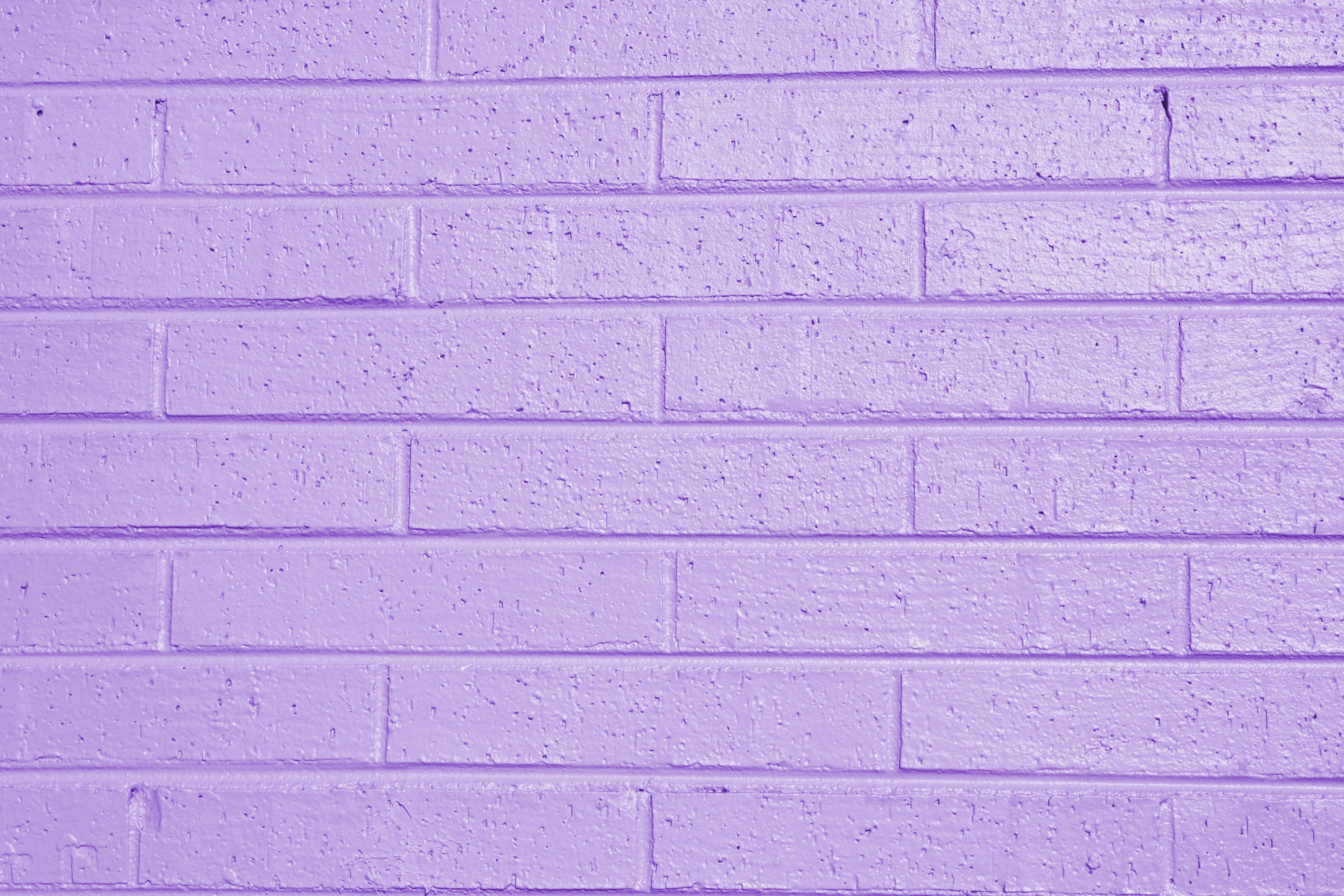 Lilac Or Lavender Painted Brick Wall Texture Free Printables In - Color-lila-pastel