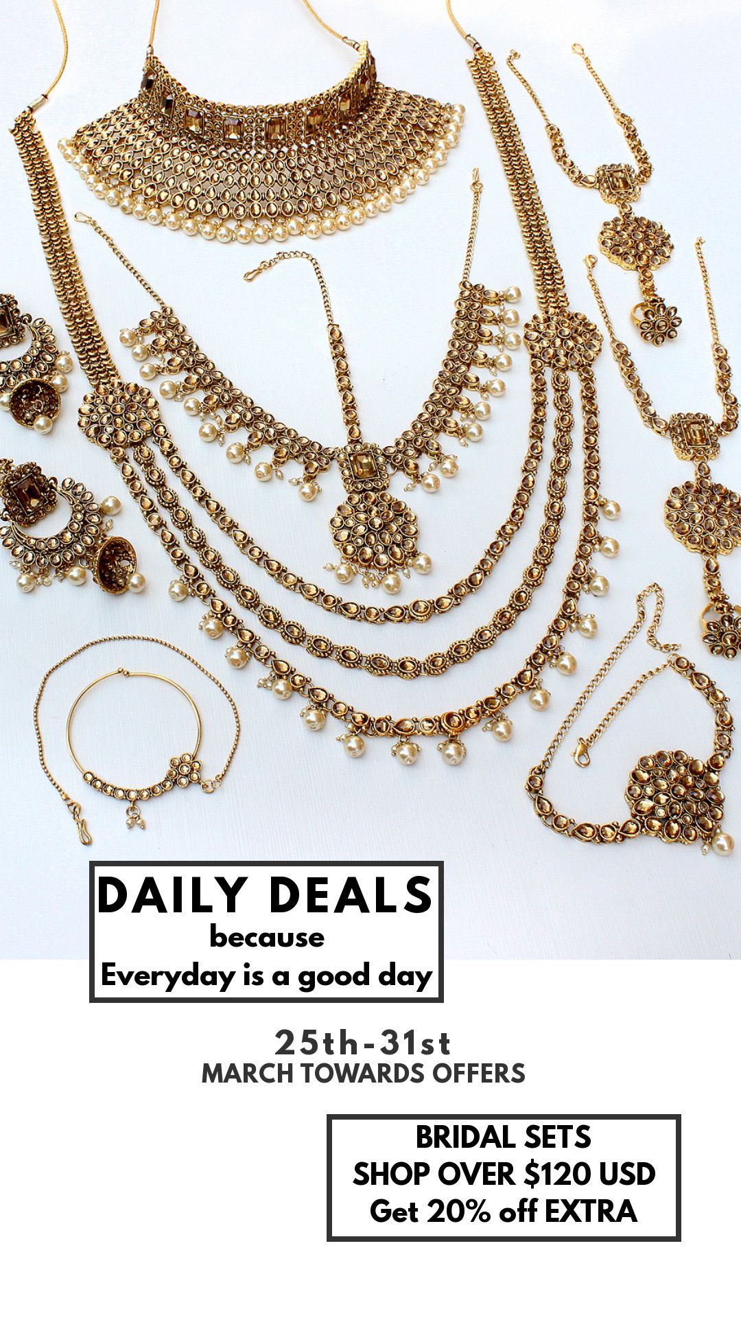 biggest sale on earring, hair accessories, necklaces