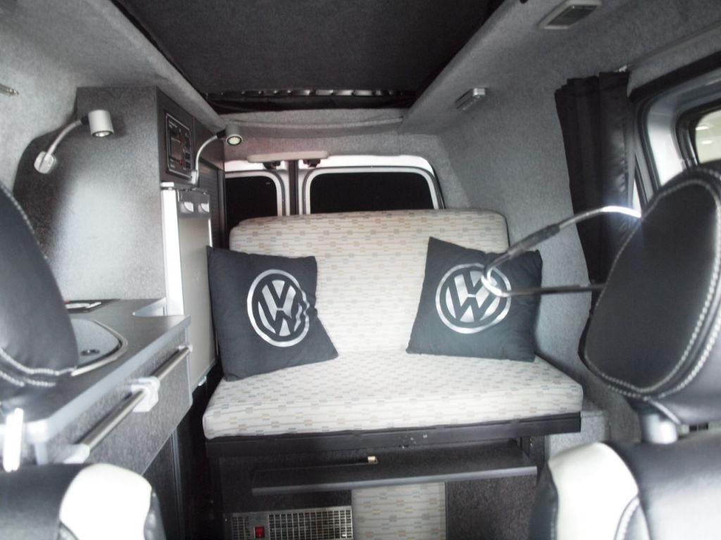 Caddy camper van conversion pinterest