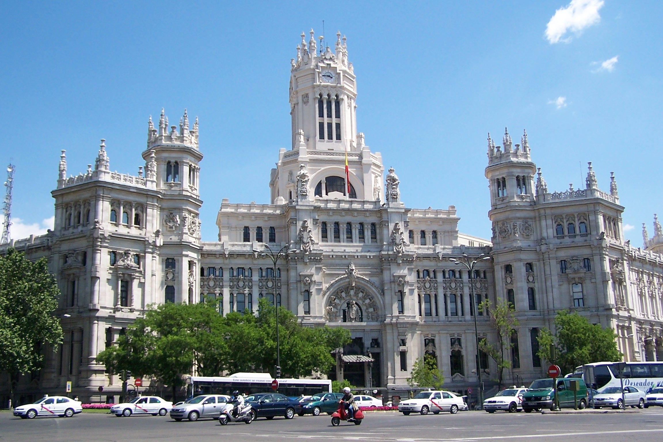 Madrid Madrid Turismo Viaje A Madrid Y Plaza Cibeles