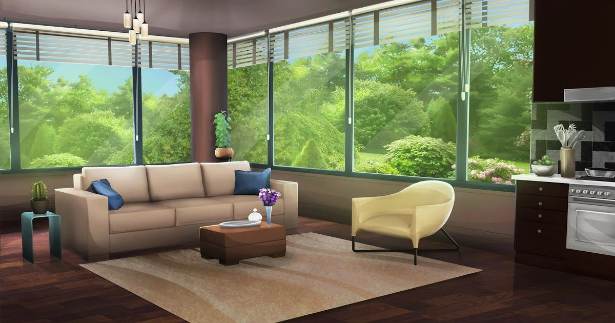 Modern Living Room Episode Interactive Backgrounds Living Room Background Anime Scenery